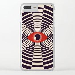 The All Gawking Eye Clear iPhone Case