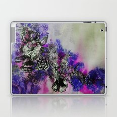 Purple Bouquet Laptop & iPad Skin