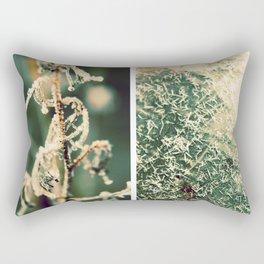 A Touch of Frost Rectangular Pillow