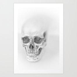 a spooky trip Art Print
