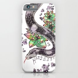 Hissssss iPhone Case