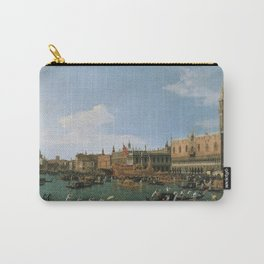 Canaletto Bernardo Bellotto  -  Return Of il Bucintoro On Ascension Day Carry-All Pouch