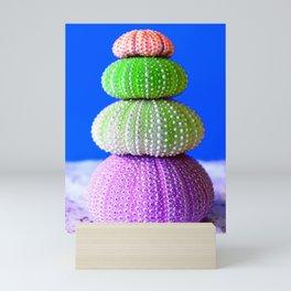 Coloful Tropic Sea Urchin Mini Art Print
