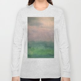 Valley of Dreams - Abstract nature Long Sleeve T-shirt