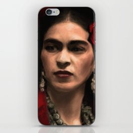 Frida Kahlo Portrait iPhone Skin