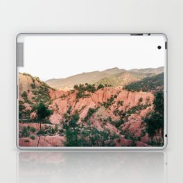 Orange mountains of Ourika Morocco | Atlas Mountains near Marrakech Laptop & iPad Skin