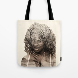 Integrated photos Tote Bag