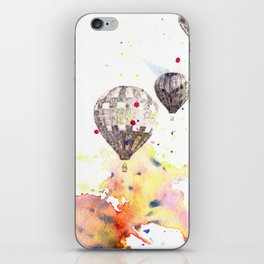 Hot Air Balloons Painting iPhone Skin