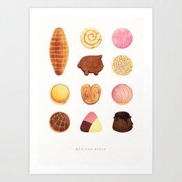 Mexican Bread Art Print
