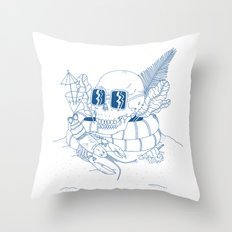 Vanitas II Throw Pillow