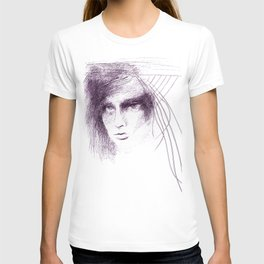 Face in the Web T-shirt
