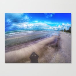 Sauble Beach GoPro Decor. Canvas Print