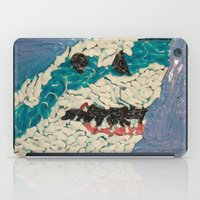 jaws iPad Cases featuring Jaws by Emily Condie