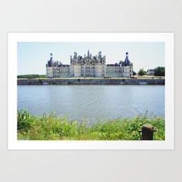 Chambord castle (1) Art Print