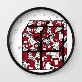 Christmas Joy Wall Clock