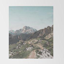 Italian Dolomites II Throw Blanket
