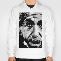 einstein Hoodies featuring Einstein by lyneth Morgan