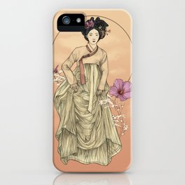 Hanbok iPhone Case