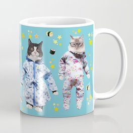 Cat Naps & Sushi Dreams by Crow Creek Coolture Coffee Mug