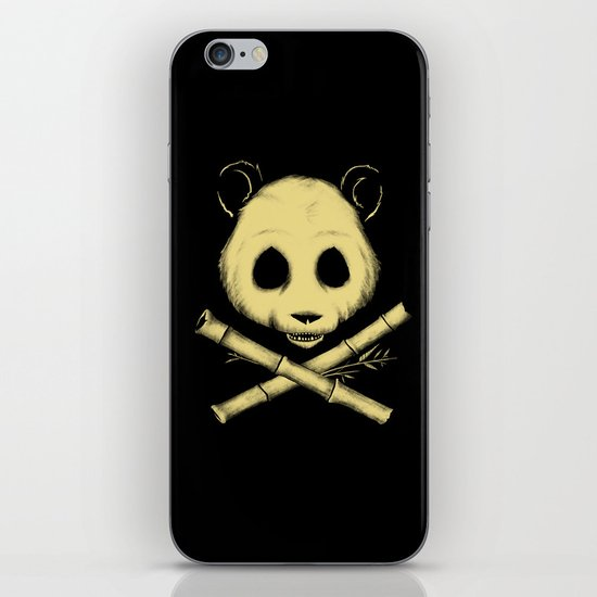 The Jolly Panda iPhone Skin