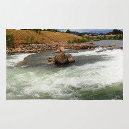 Kayak Practice Rapids in Durango Rug
