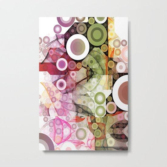 Kringles Art Flow II Metal Print