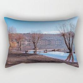 Lago di Albano Rectangular Pillow