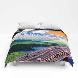 On the Mountain Way Comforters
