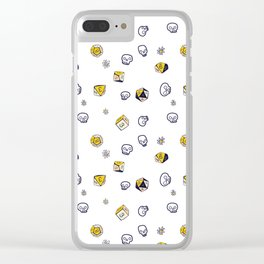 Dice, Daisies, and a lot of Skulls Clear iPhone Case