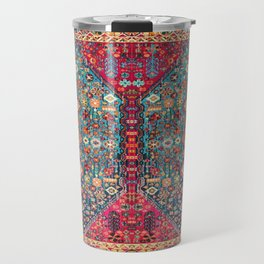 N131 - Heritage Oriental Vintage Traditional Moroccan Style Design Travel Mug