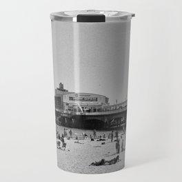 Bournemouth Pier - Summer In England Travel Mug