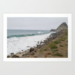 Point Mugu, California Art Print