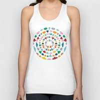 wine Tank Tops featuring Wine O'Clock by Project M