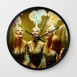 1950's Showgirls Wall Clock