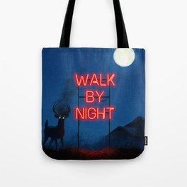 Walk by Night Tote Bag