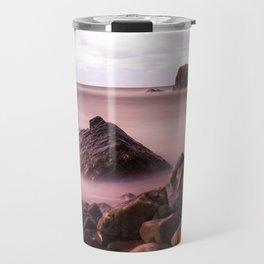 Black Rock, Widemouth Bay, Bude, Cornwall, England, UK Travel Mug
