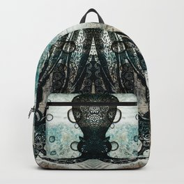 Octopus In Stormy Water Backpack
