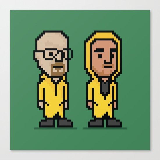 8-Bit: Breaking Bad Canvas Print