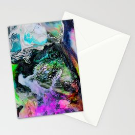 Abstract Melt III Stationery Cards