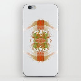 Inknograph IV - Ink Blot Art iPhone Skin