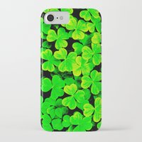 clover iPhone & iPod Cases featuring CLOVER by Ylenia Pizzetti