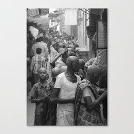 Little Budha Varanasi Canvas Print
