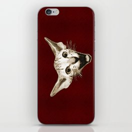 The Laughing Cat iPhone Skin