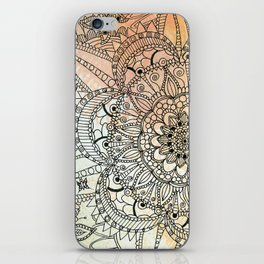 Butterfly Mandala iPhone Skin