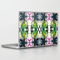 writing Laptop & iPad Skins featuring Secret Writing by Martha Calderon