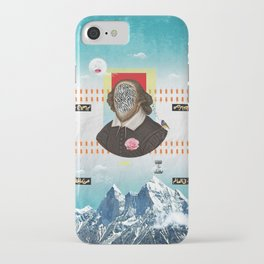 Shakespeare In Disguise iPhone Case