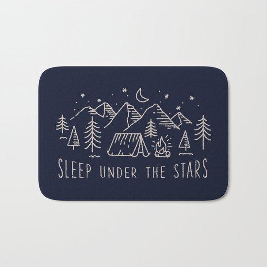 Sleep under the stars Bath Mat