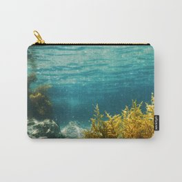 Forest of Seaweed, Seaweed Underwater, Seaweed Shallow Water near surface Carry-All Pouch