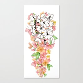Shower Tree Canvas Print