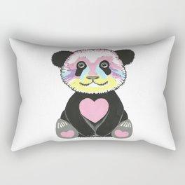 I Love Pandas Rectangular Pillow